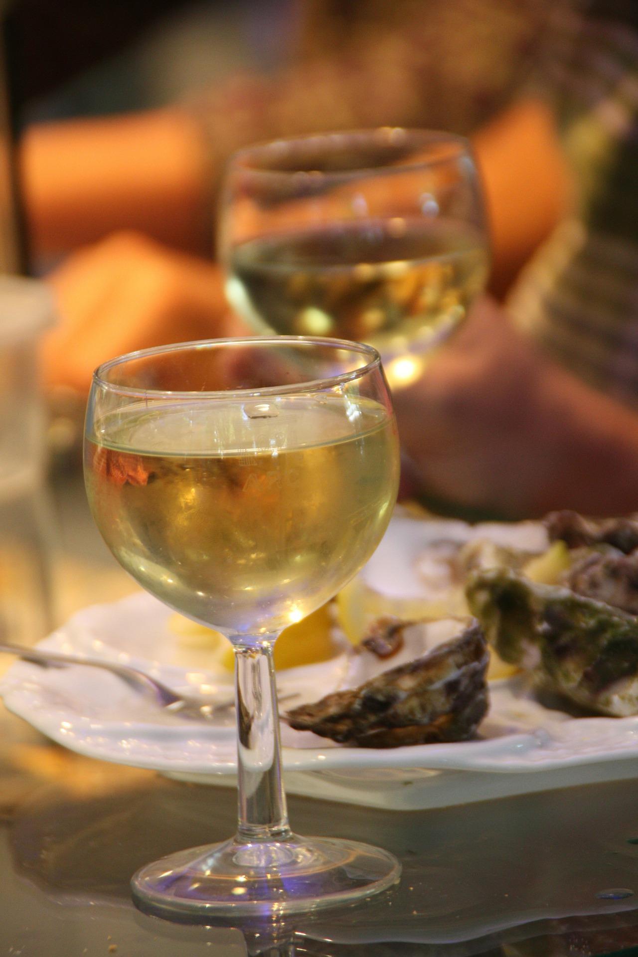 Atelier dégustation Huîtres & Vins blancs