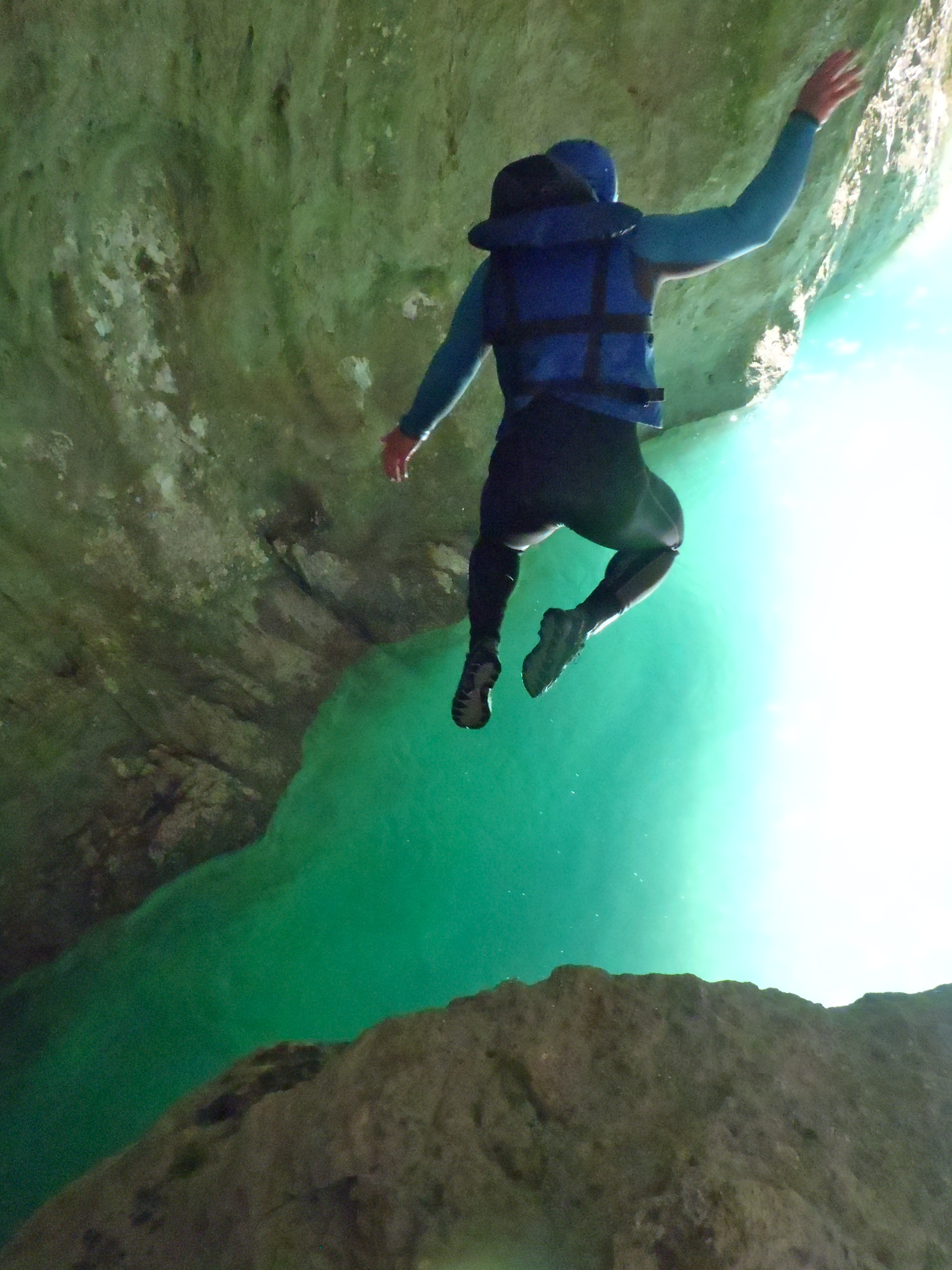 Randonnée aquatique dans le Grand Canyon des Gorges du Verdon