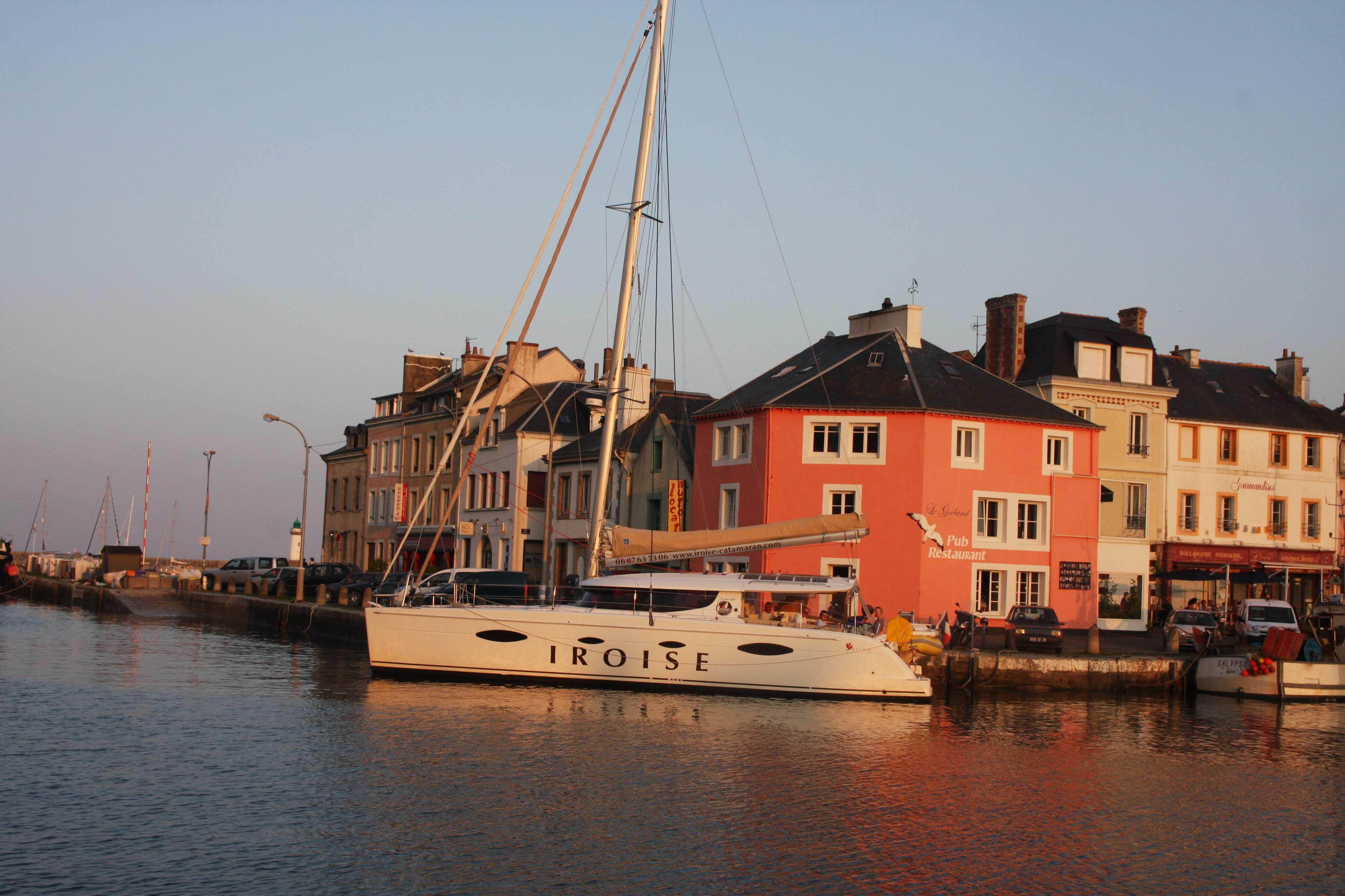 L'après-midi mer sur un spacieux multicoque en Bretagne sud pour 96€/pers