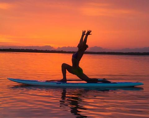 Initiation au paddle yoga à Saint-Raphaël