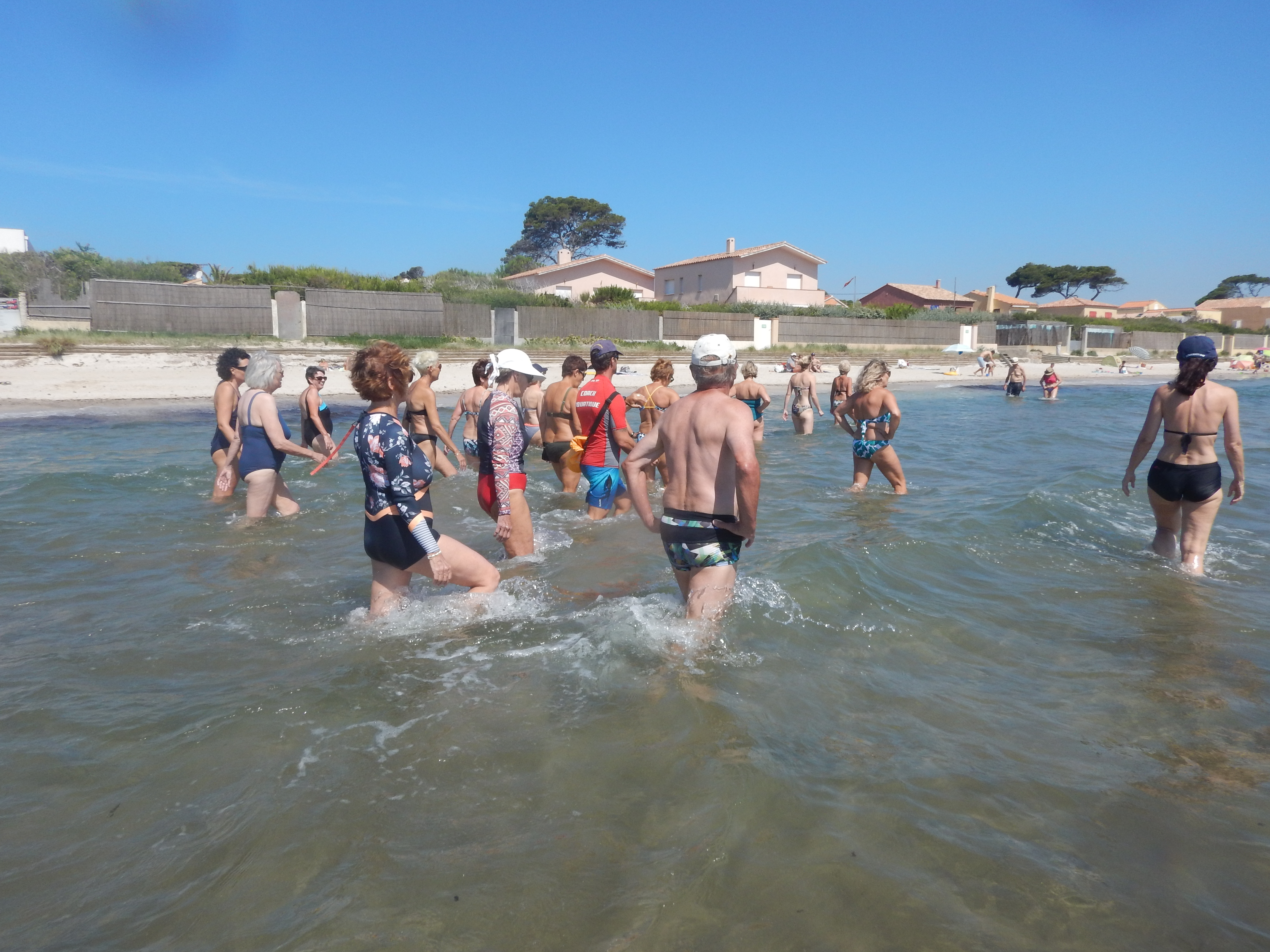 Initiation à la marche aquatique sportive à Hyères