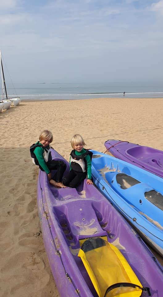 Initiation au kayak de mer, sur les côtes bretonnes