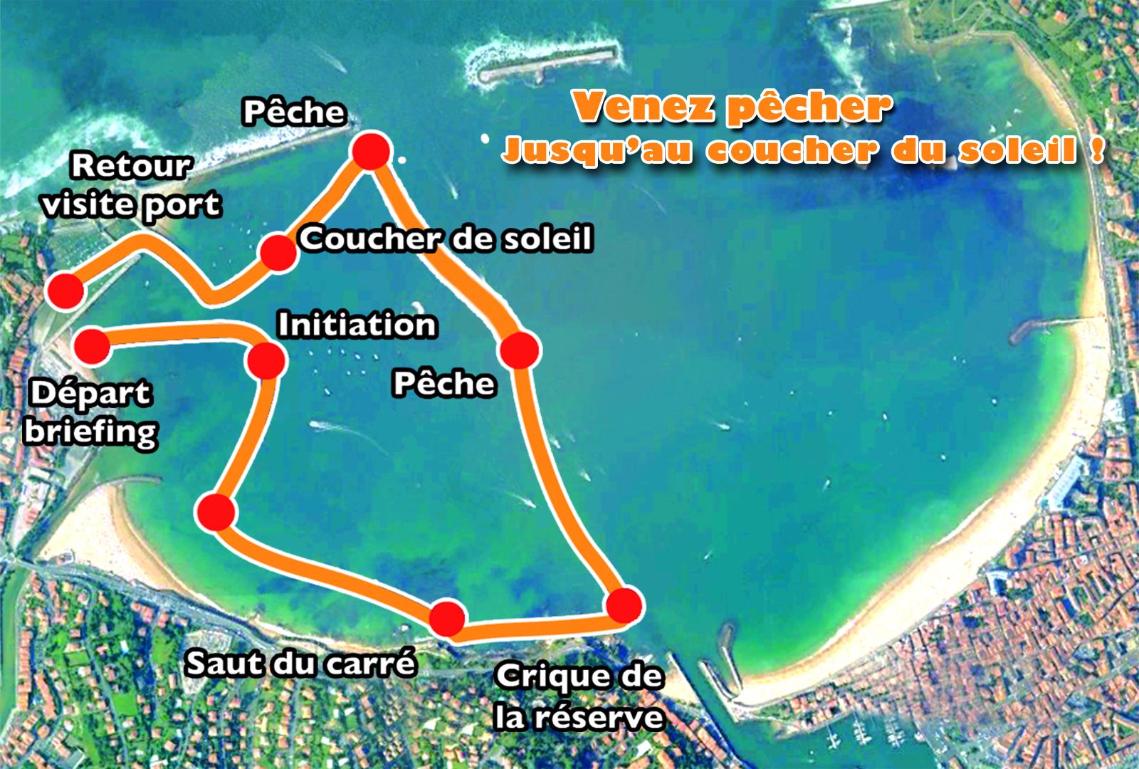 Balade et initiation à la pêche en pirogue Hawaïenne à Saint-Jean-De-Luz