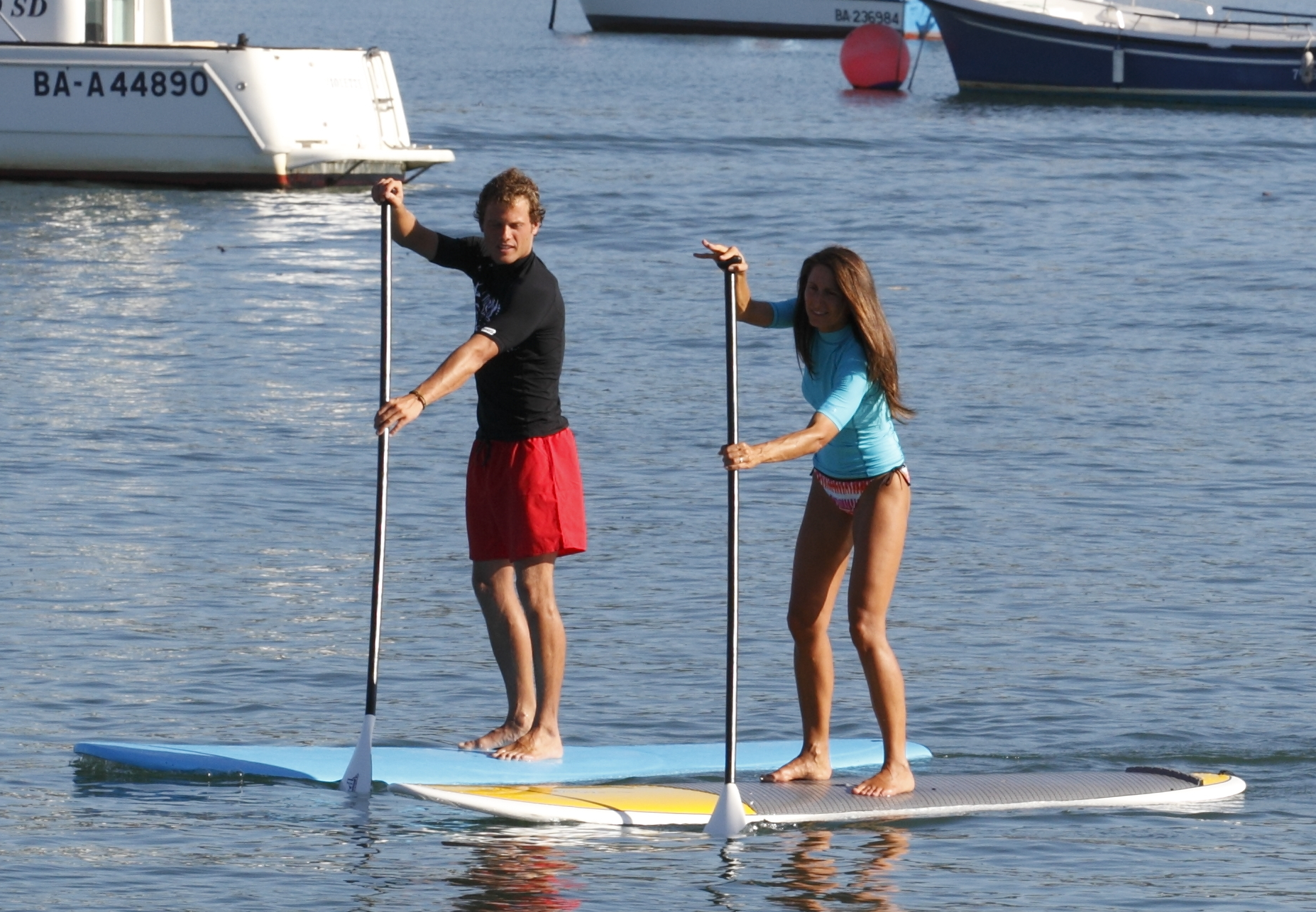 Initiation ou perfectionnement au stand up paddle à Hendaye
