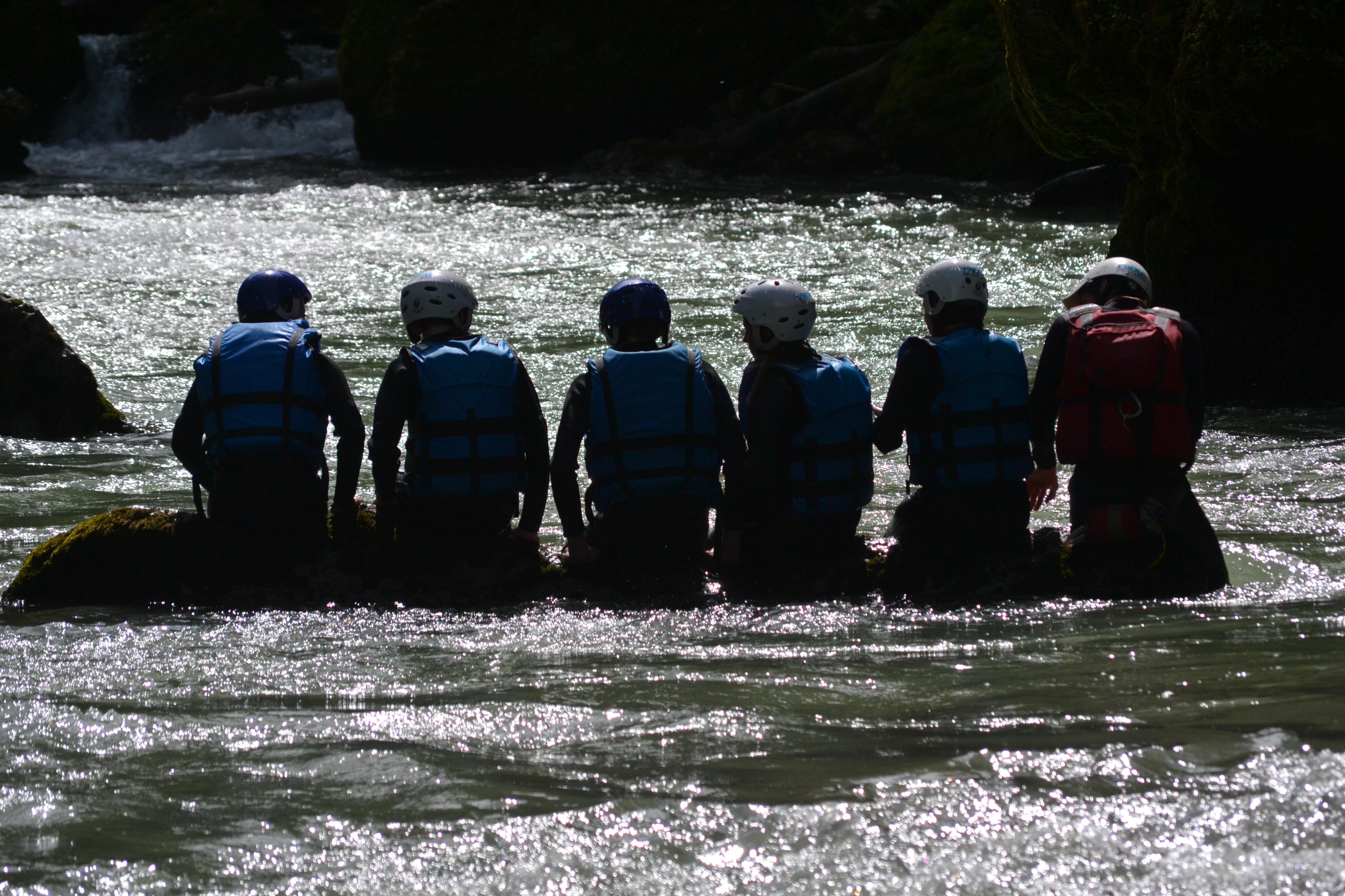 Rafting près de Saint Jean d'Aulps