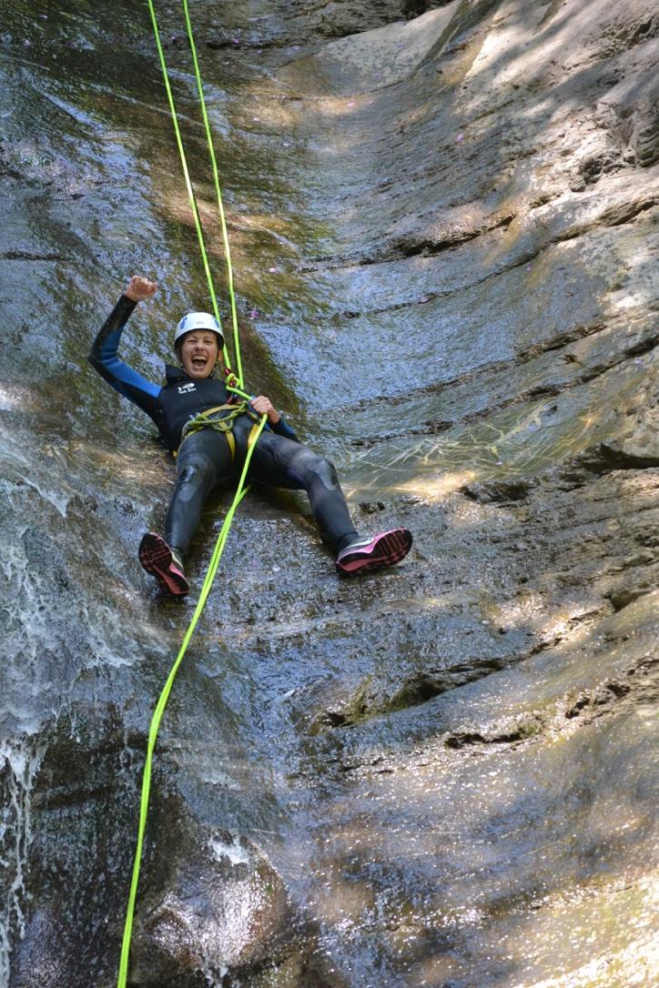 Canyoning dans les gorges d'Avoriaz