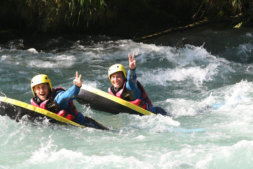 Initiation Hydrospeed sur l'Isère