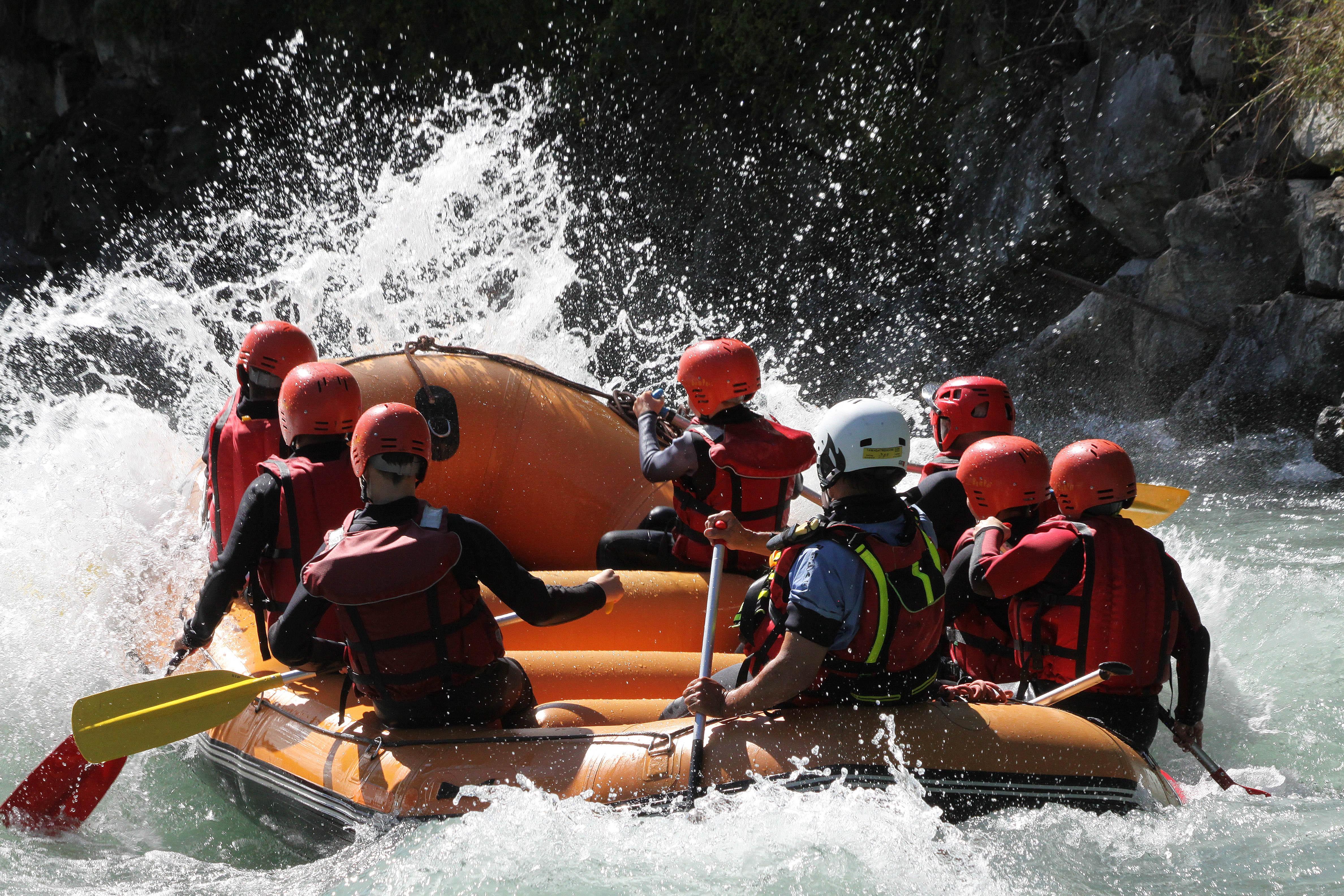 Initiation rafting sur la Haute Isère