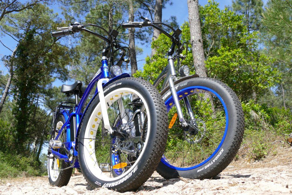 Balade en Fat Bike électrique près de Soustons