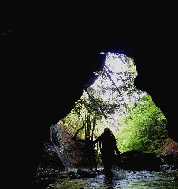 Initiation canyoning sur le canyon de Montmin