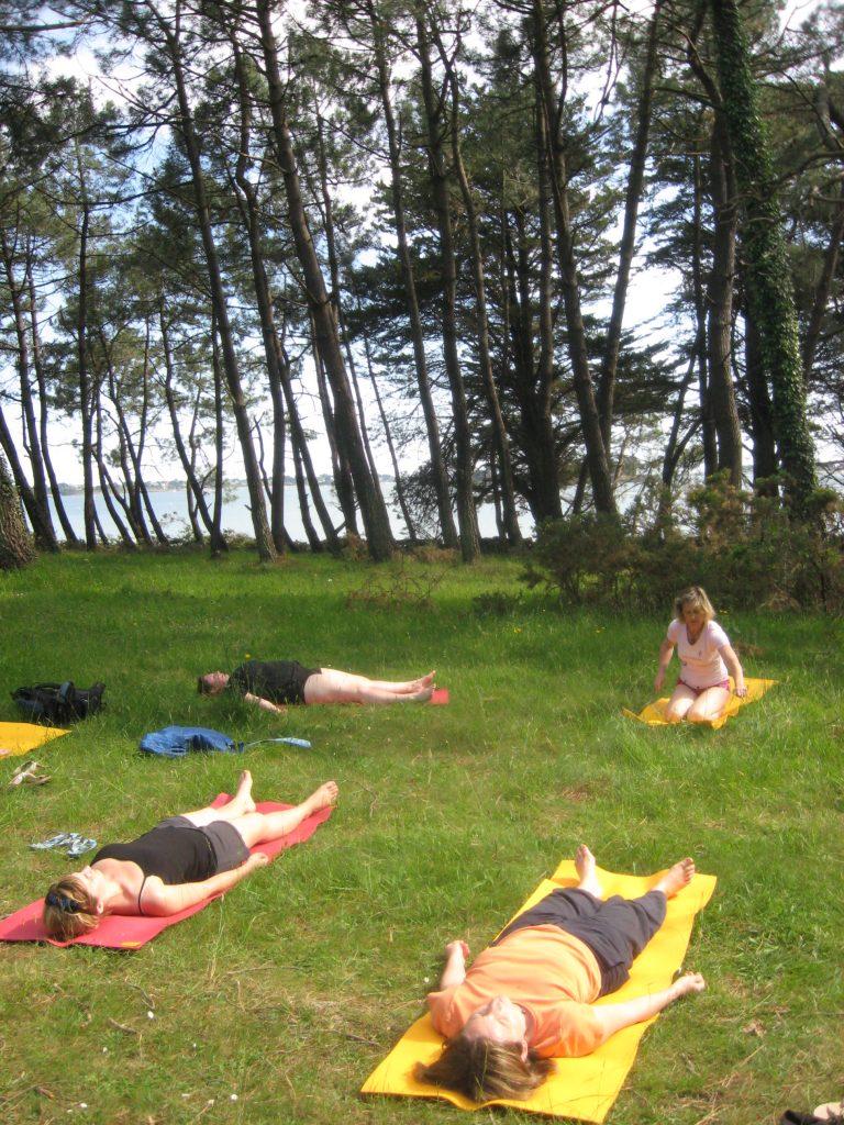Cours de yoga parents avec son enfant, à Vannes en Bretagne