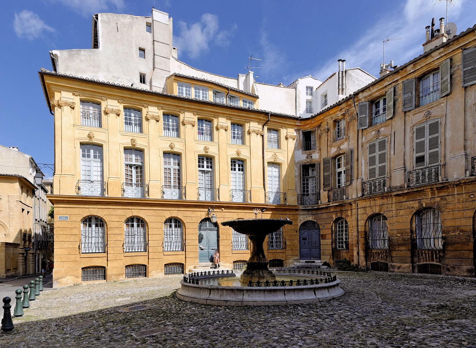 Découverte des hôtels particuliers d'Aix-en-Provence