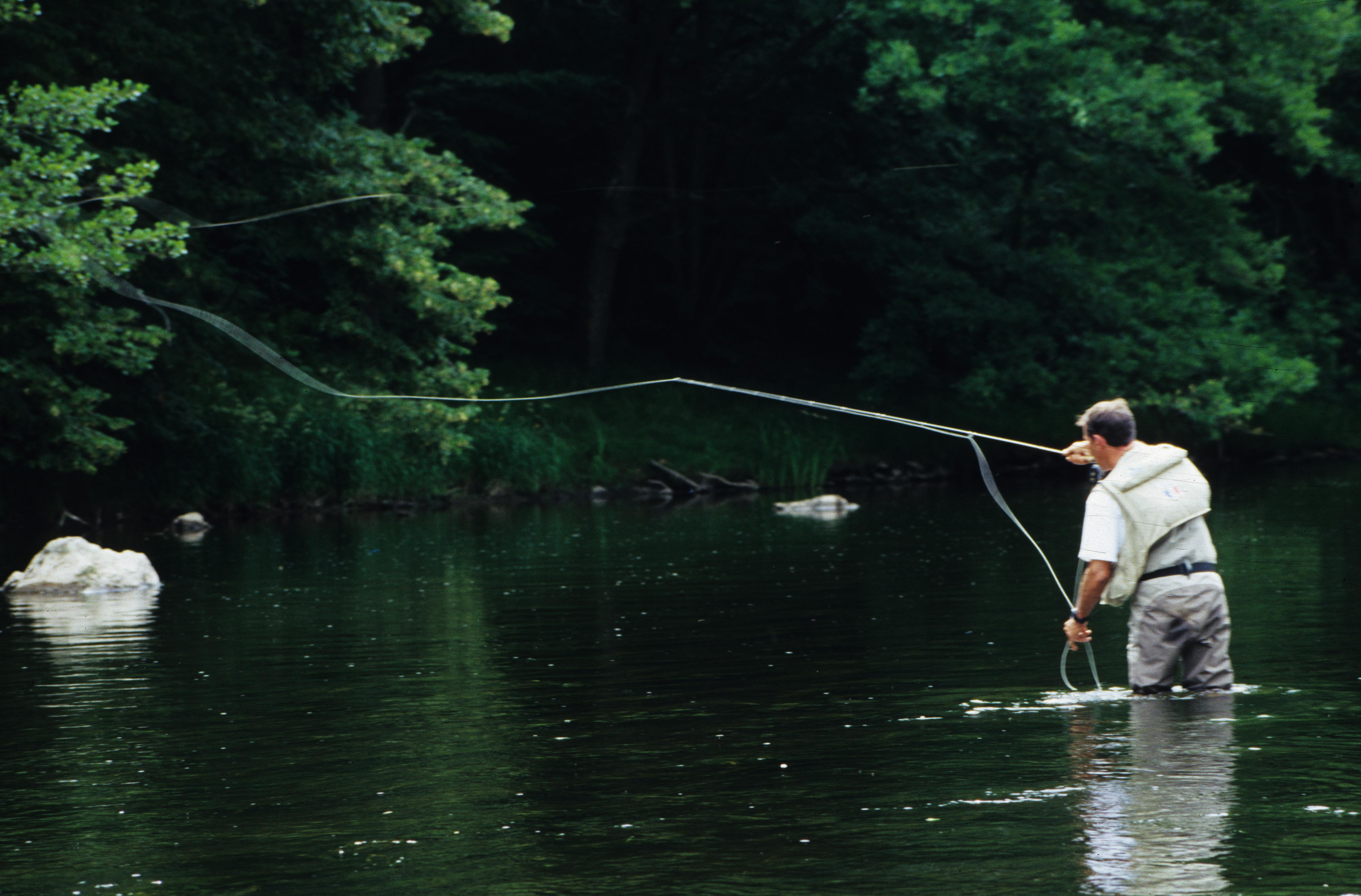 Initiation à la pêche à la mouche et perfectionnement en Auvergne