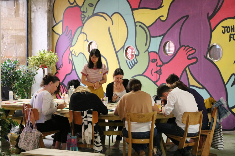Atelier d'initiation au brush lettering à Paris