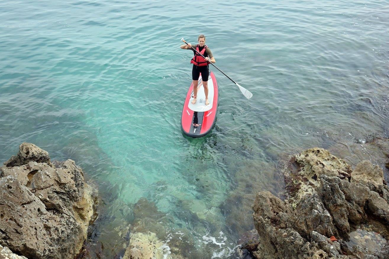 Randonnée Stand up paddle Sup à Roquebrune Cap Martin