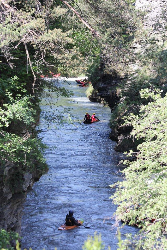 Easy rafting sur l'Isère