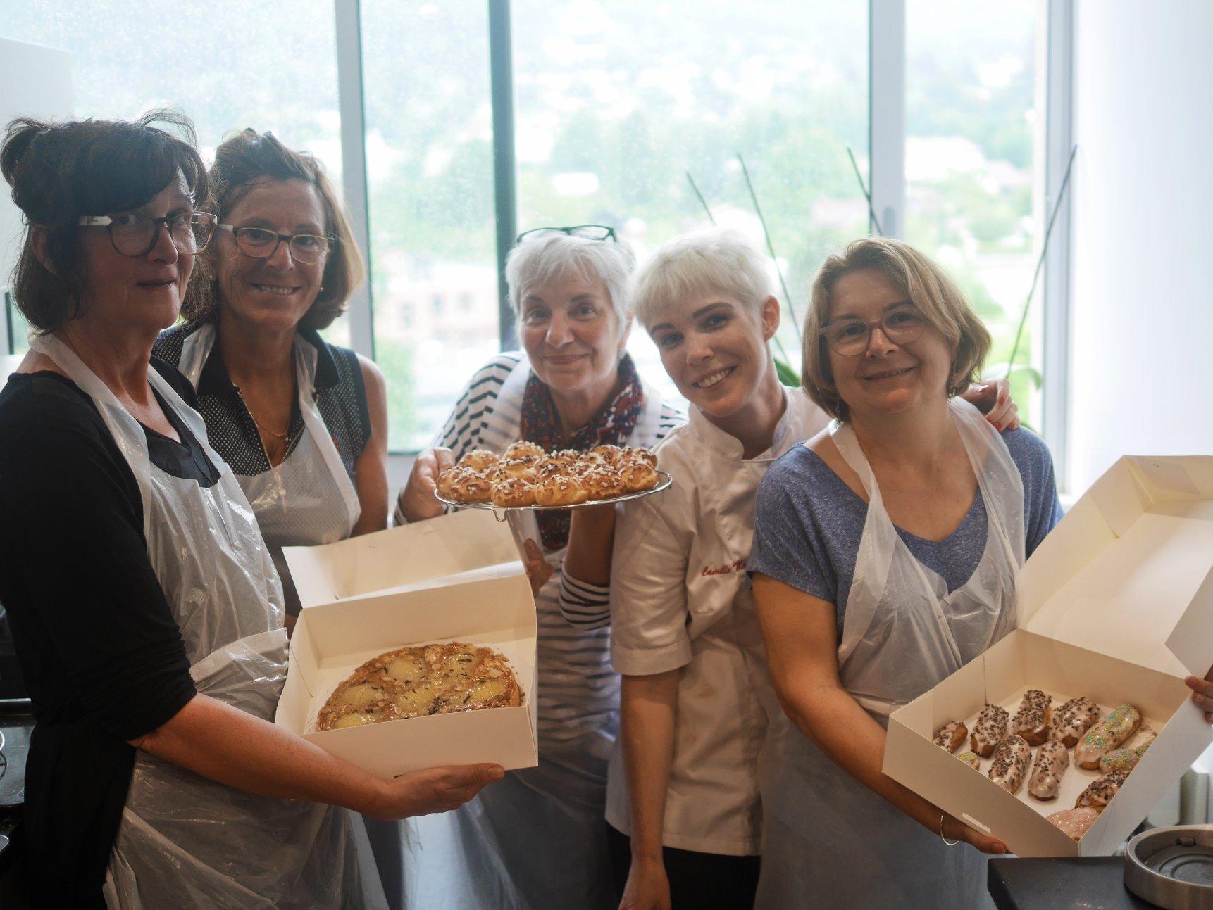 Cours de pâtisserie sur Grenoble