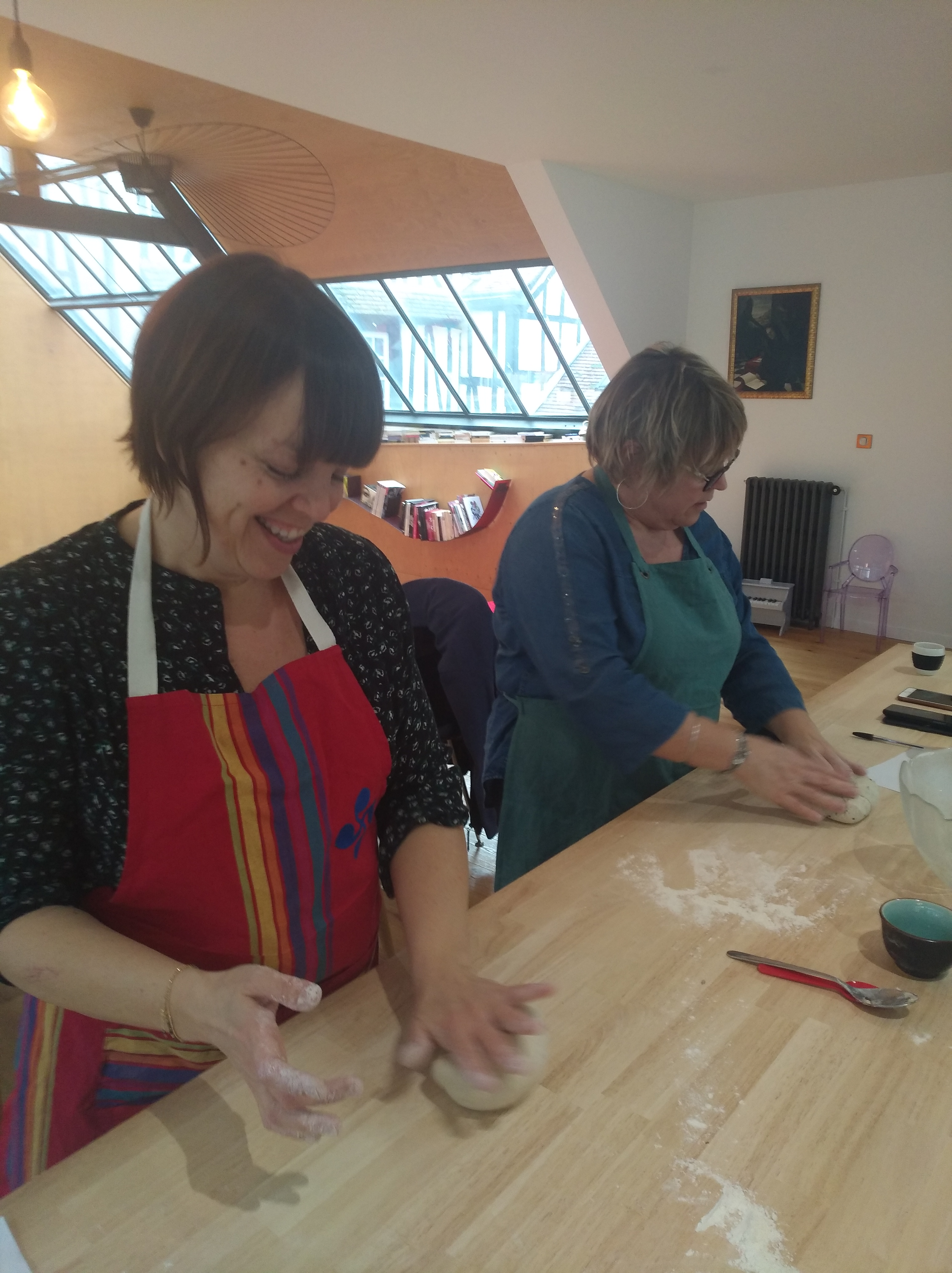 Atelier de fabrication de pain au levain bio à Rouen