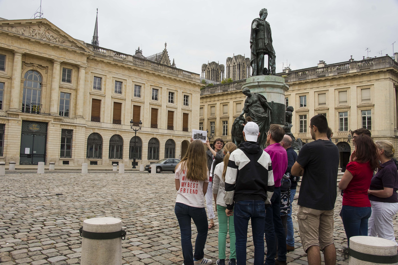L'histoire de Reims à travers des cartes anciennes