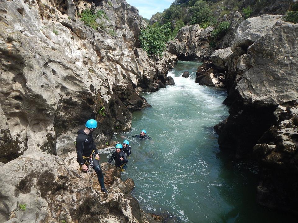 Sortie au canyon du diable, au cœur des gorges de l'Hérault