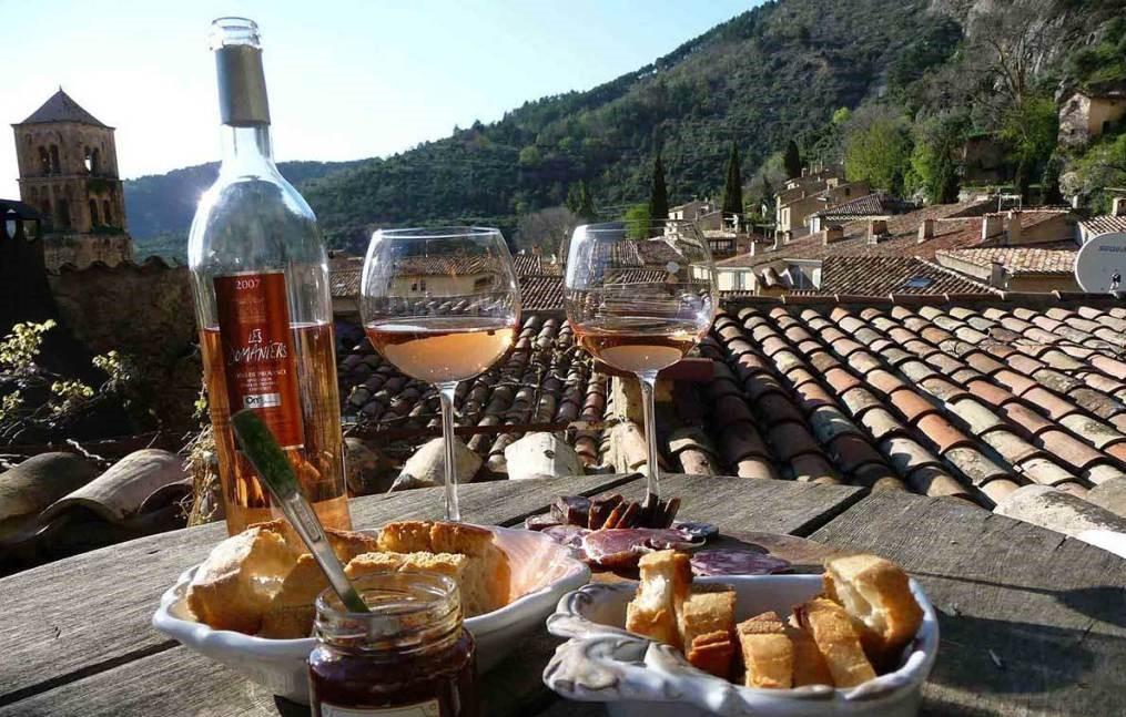 Excursion sur la route de Saint Tropez et ses vignobles