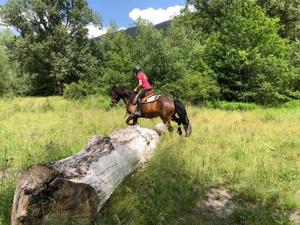 Balade à cheval sur Bourg Saint Maurice