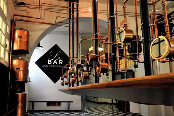 Atelier de création de parfum à Grasse