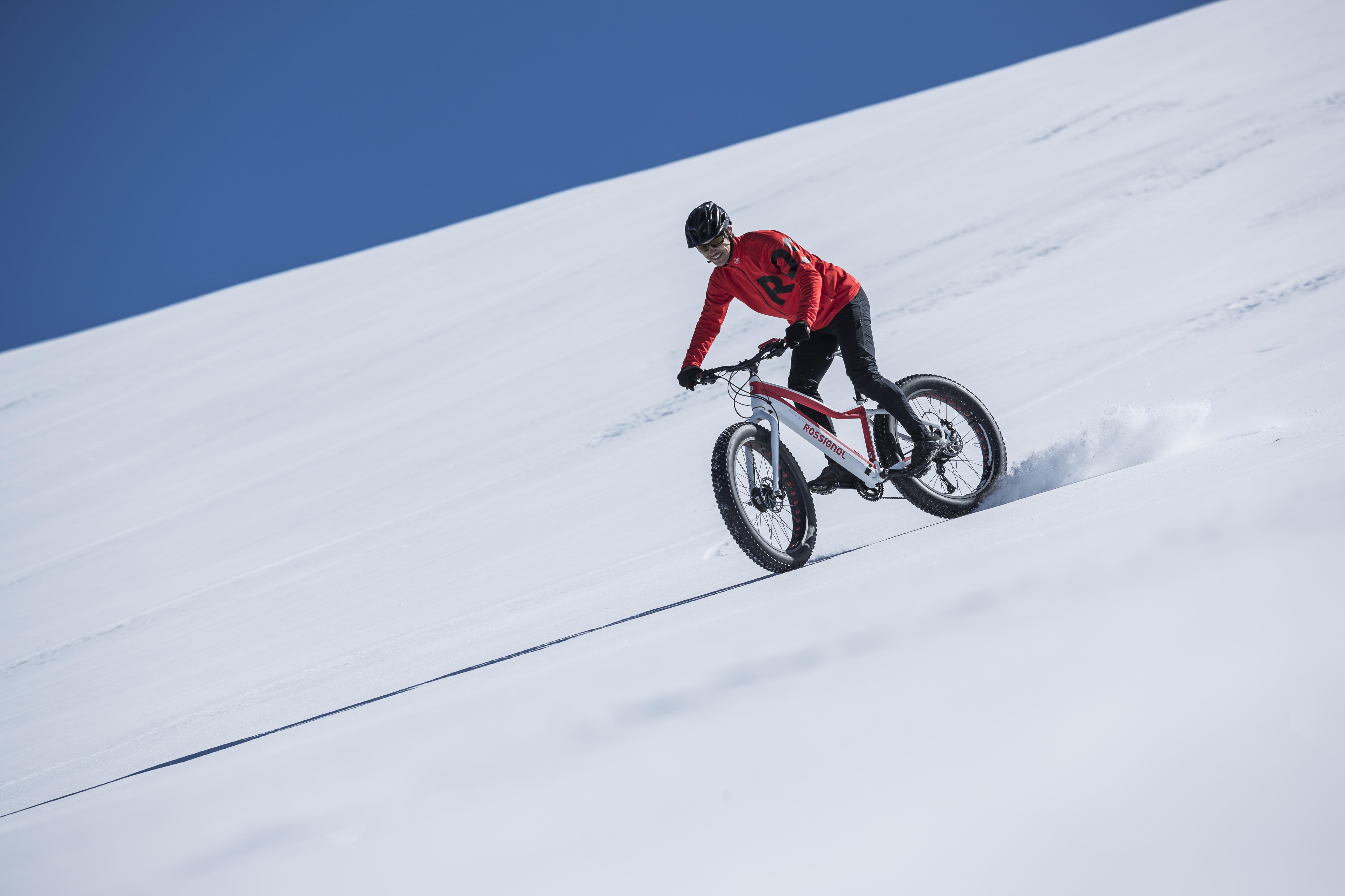 Randonnée en Fat bike électrique sur La Plagne