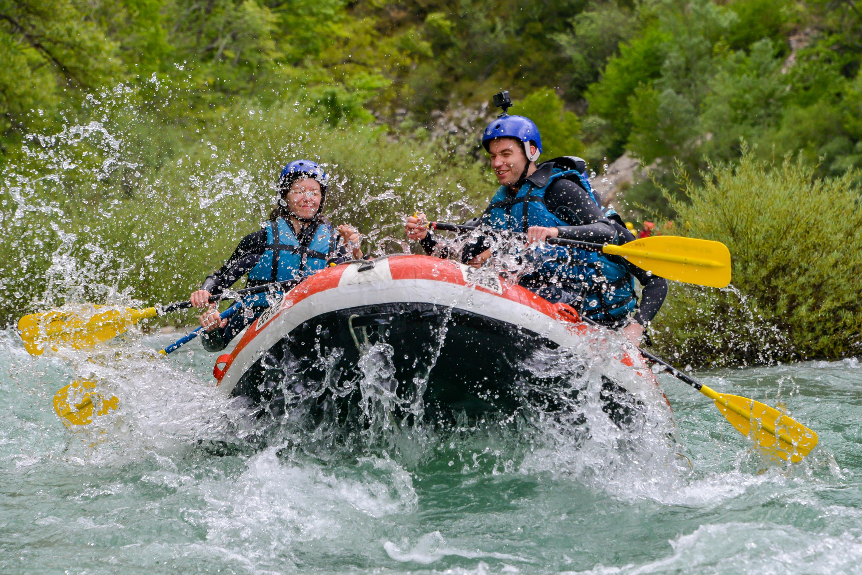 Découverte des rivières du Verdon en Rafting