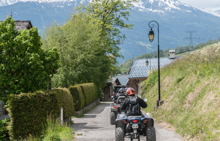 Initiation de Buggy et Quad à Bourg Saint Maurice