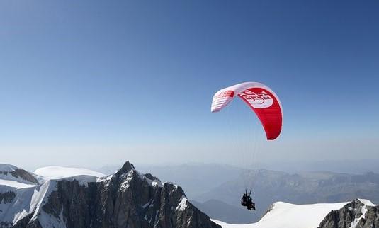 Vol découverte de la vallée de Chamonix en parapente