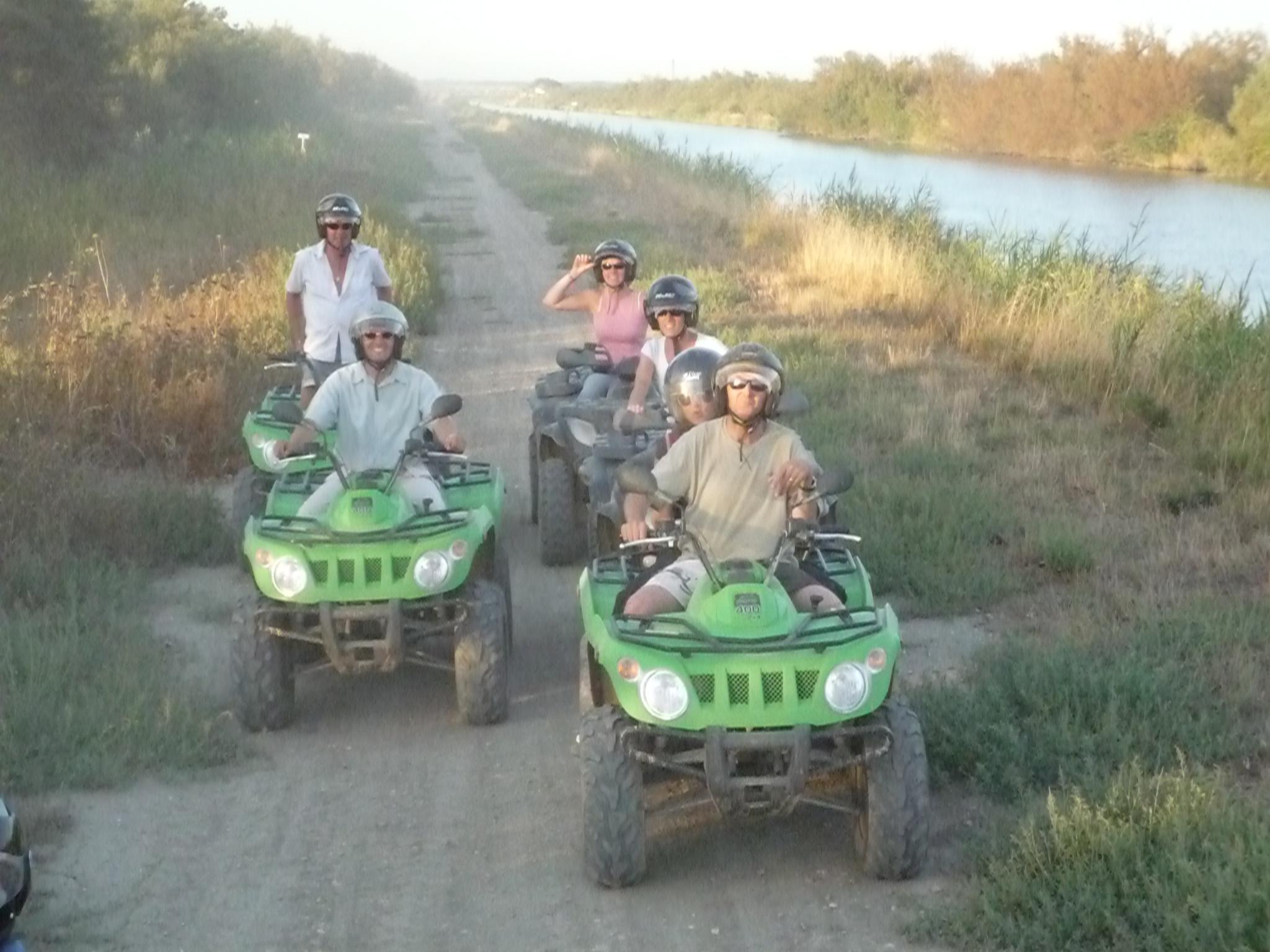 Randonnée en quad en Camargue
