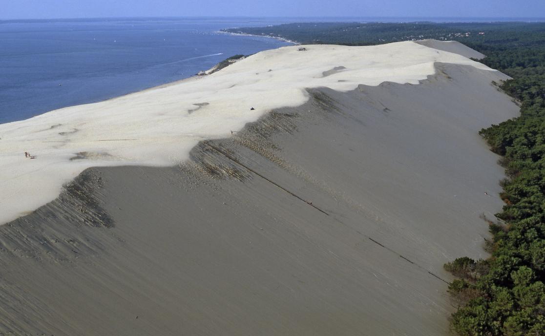 Vol en hélicoptère au dessus d'Arcachon et de la Dune du Pylat