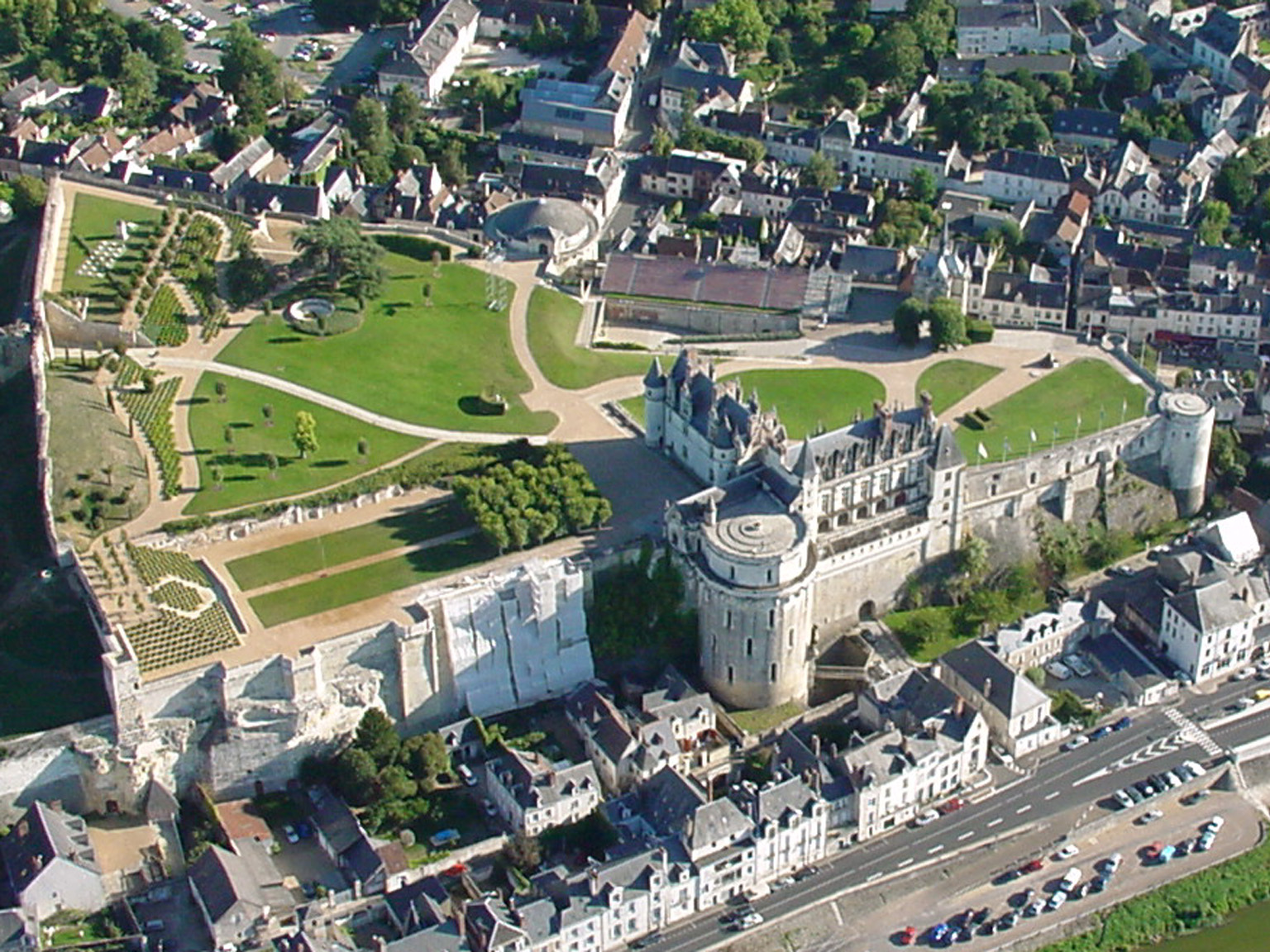 Découverte des Châteaux de la Loire en hélicoptère