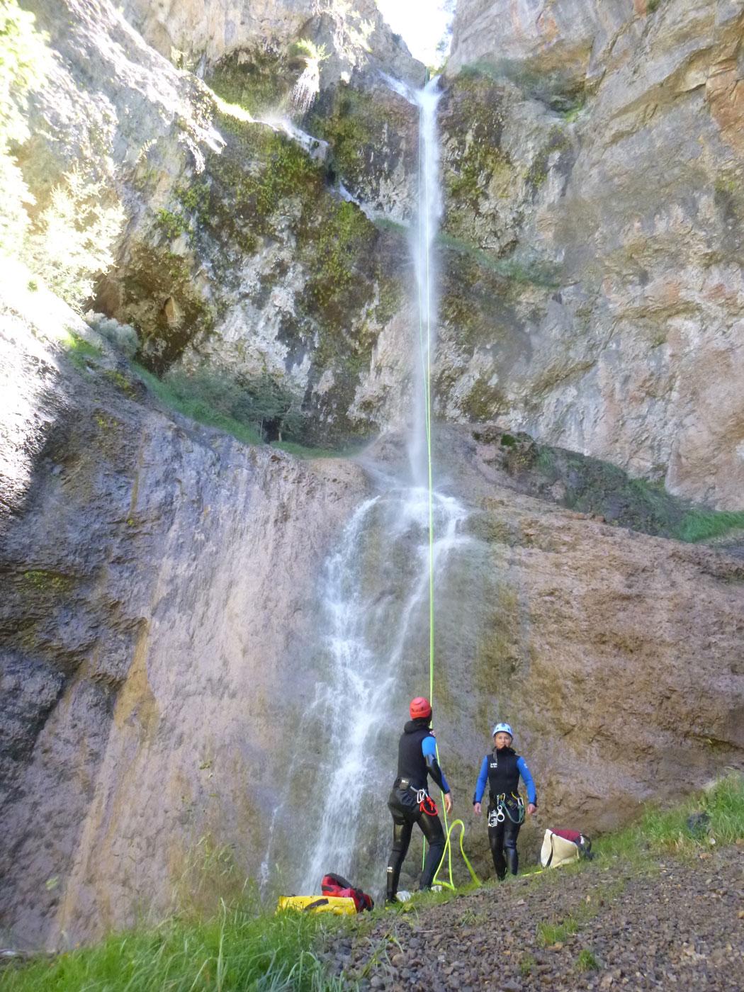 Découverte de deux canyons en deux jours près de Saint Lary
