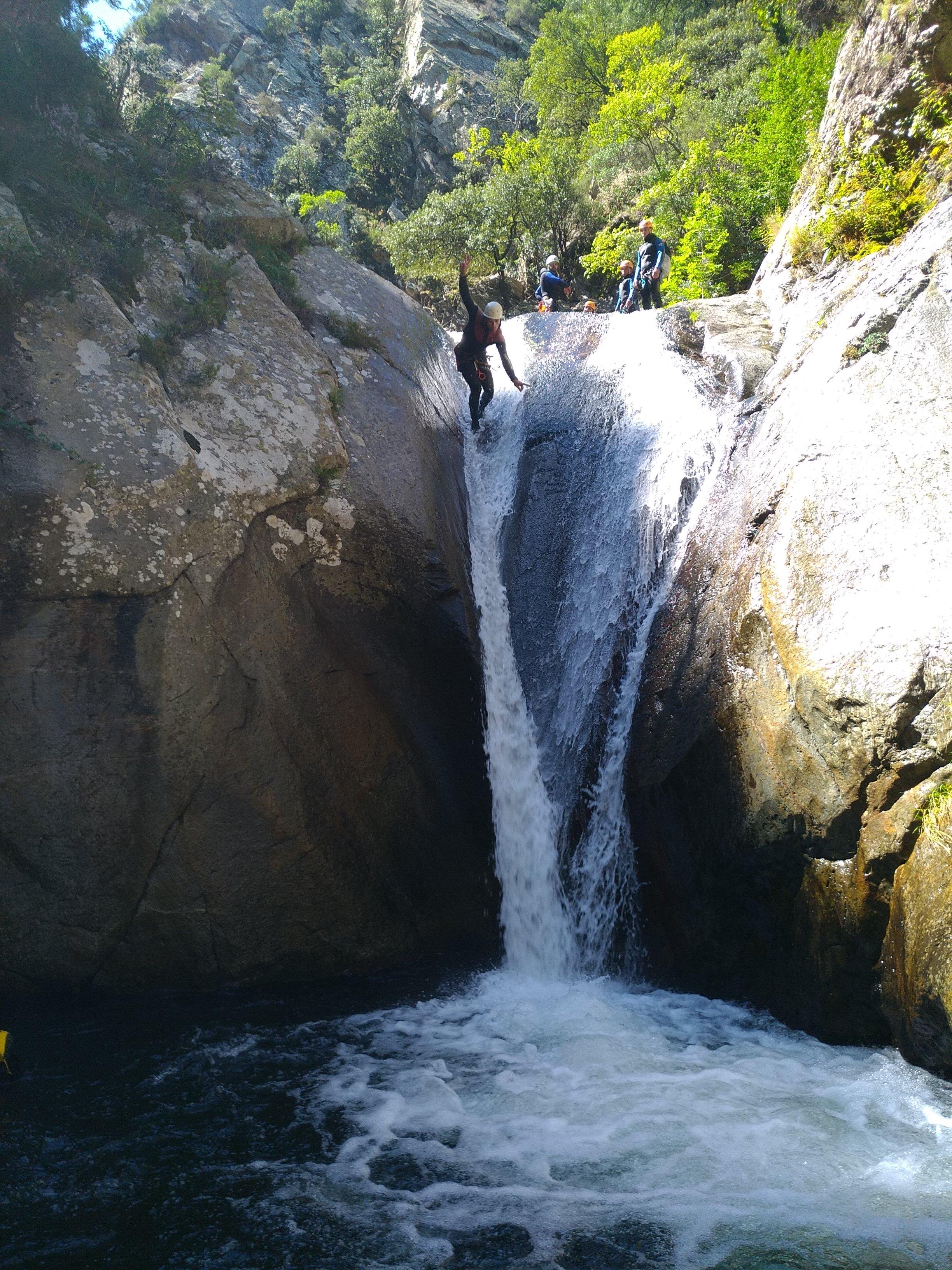 Canyoning dans les Pyrénées catalanes