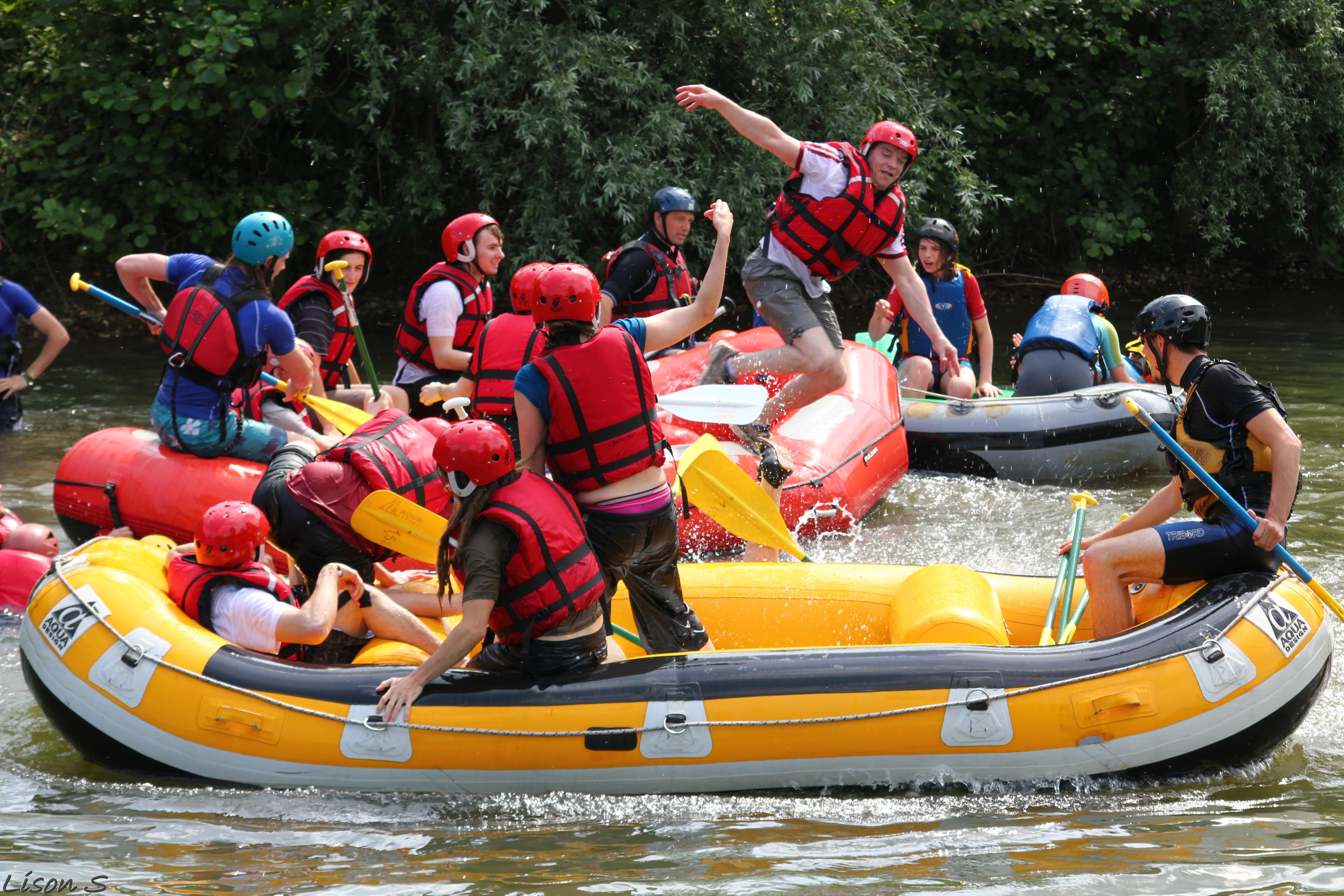 Rafting sur les eaux vives de Picquigny