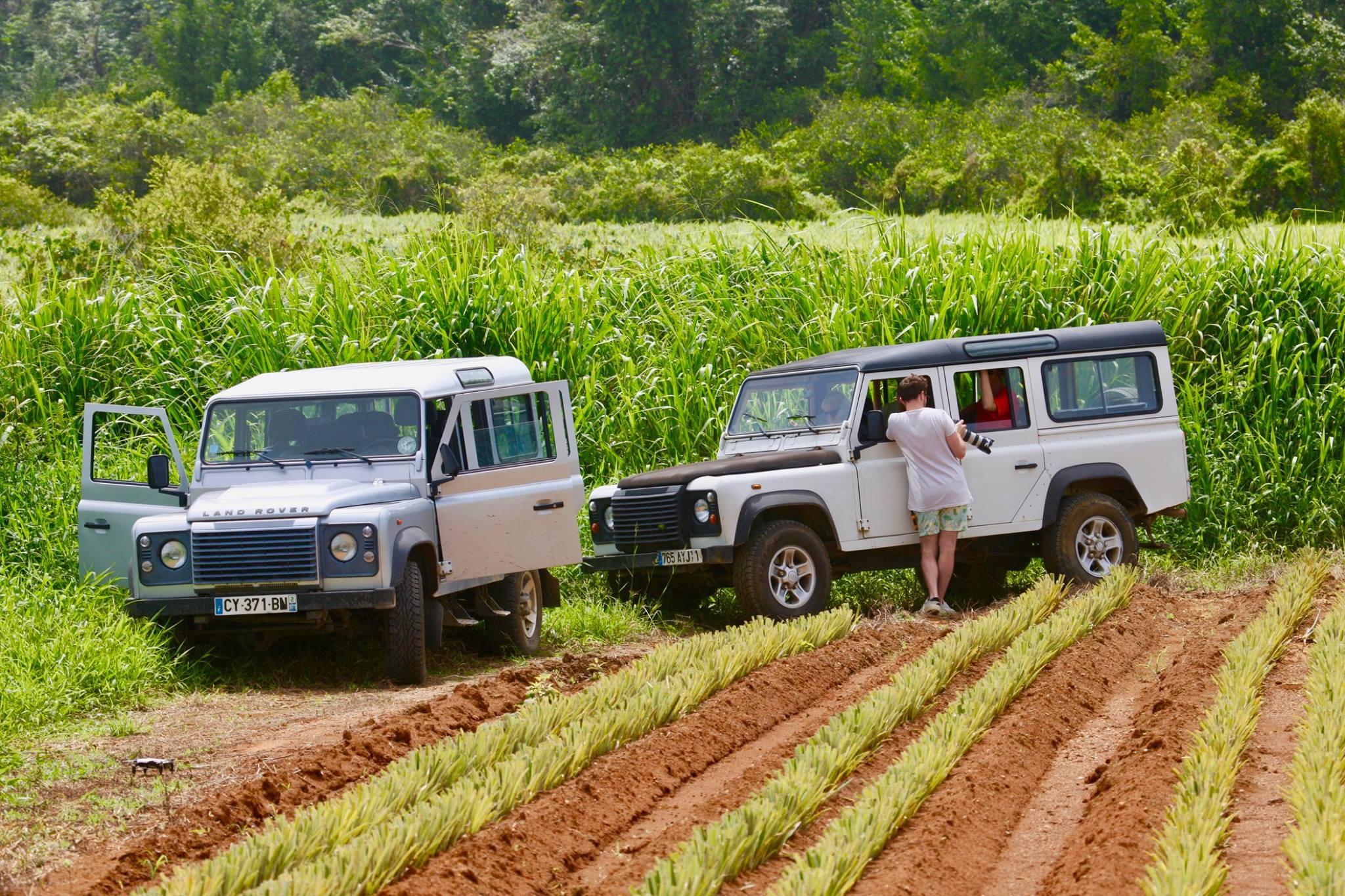Excursion en 4x4 dans le Sud Basse-terre de la Guadeloupe