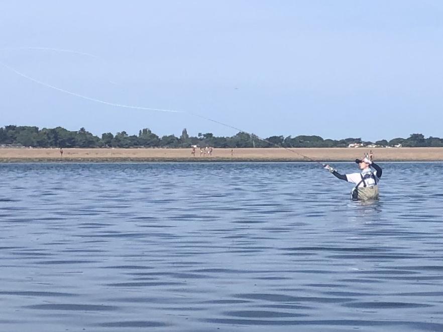 Cours de pêche à l'Ile de Ré