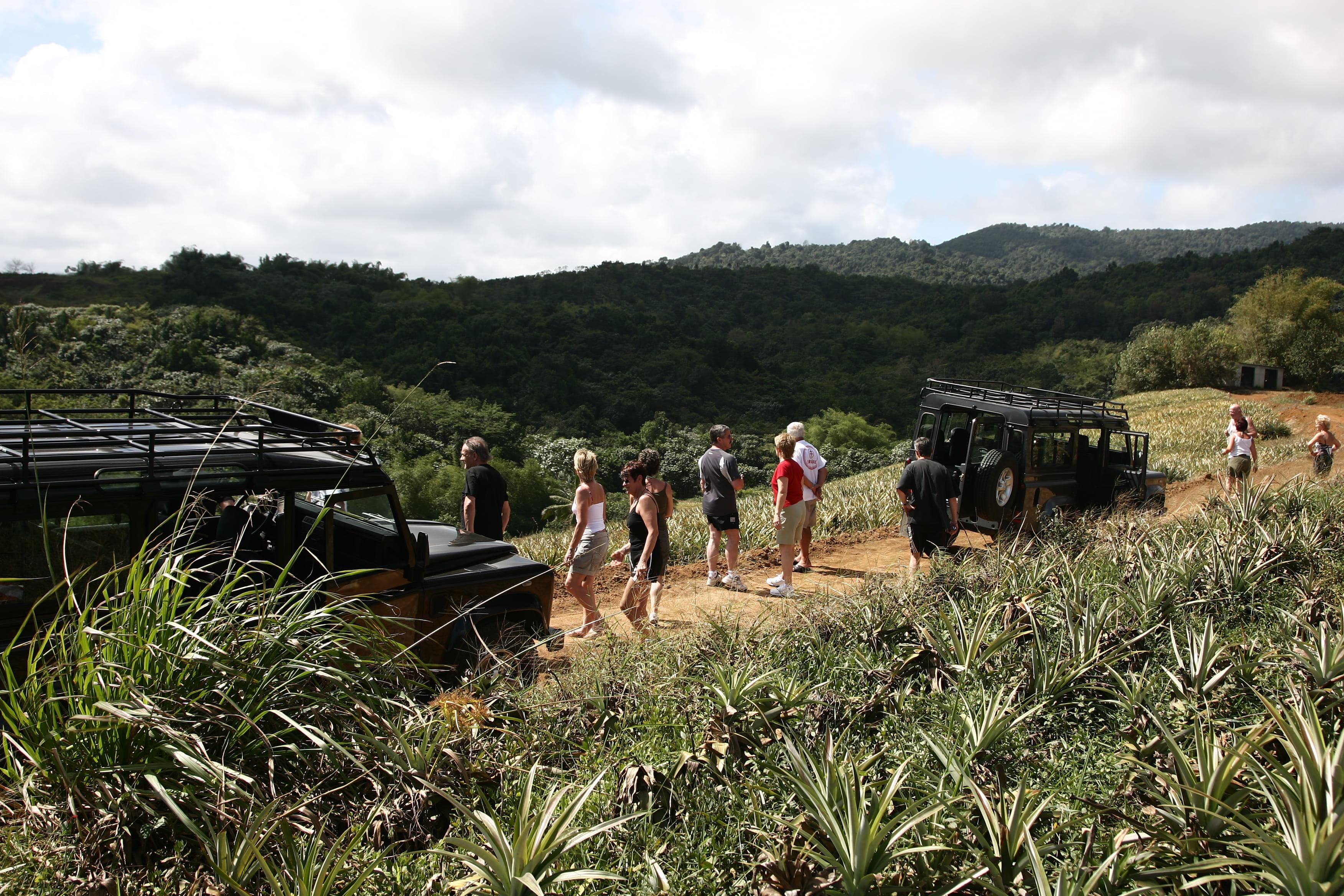 Excurssion privatif en 4x4 dans le Nord Basse Terre de la Guadeloupe