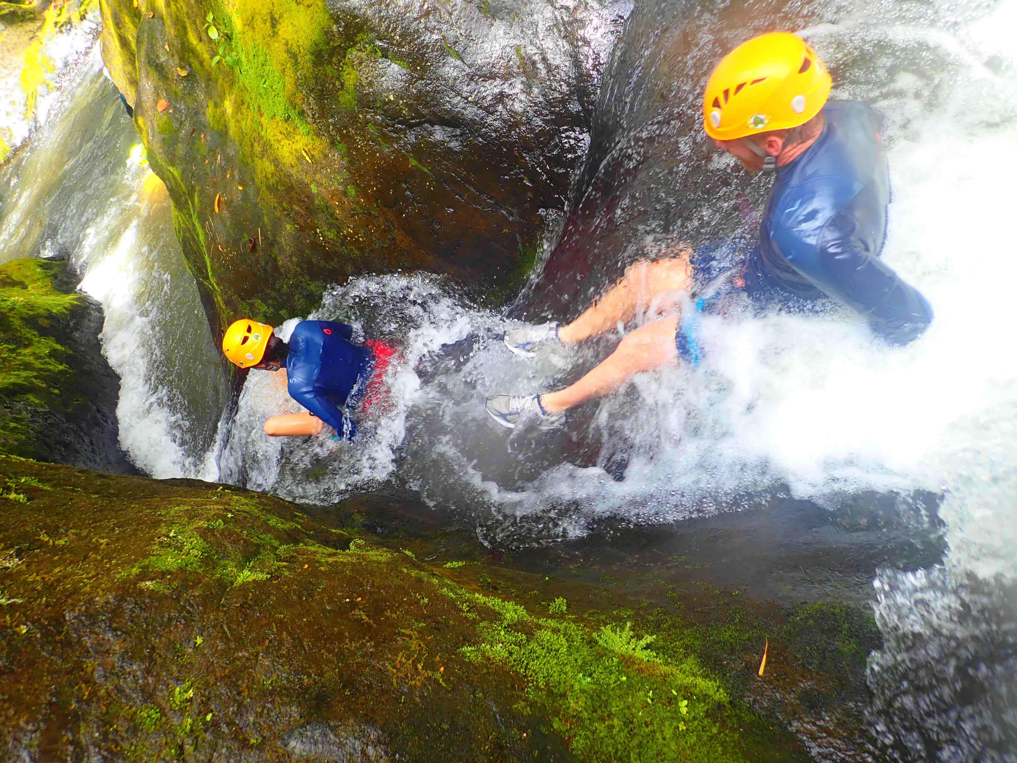 Une journée de canyoning en Guadeloupe