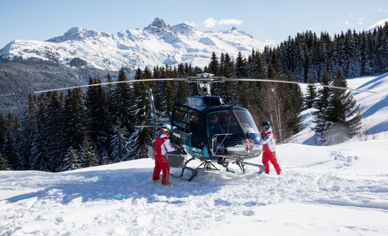 Découverte des 3 Vallées en héliski et en ski hors-piste