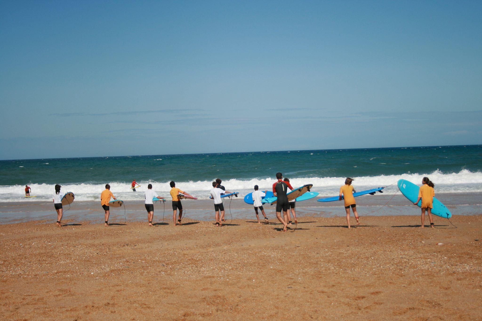 Cours de surf à Labenne