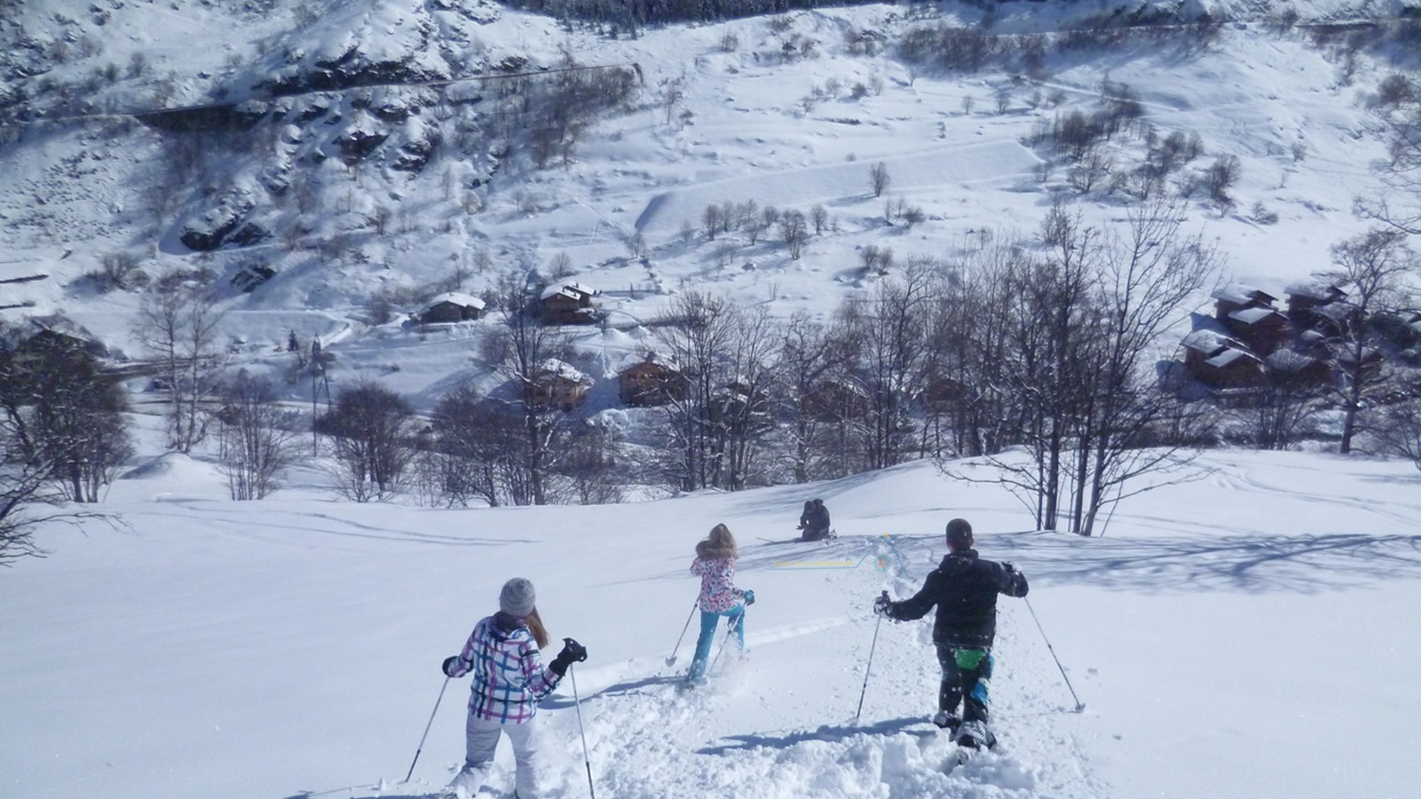 Balade & Randonnée en raquettes dans les Alpes