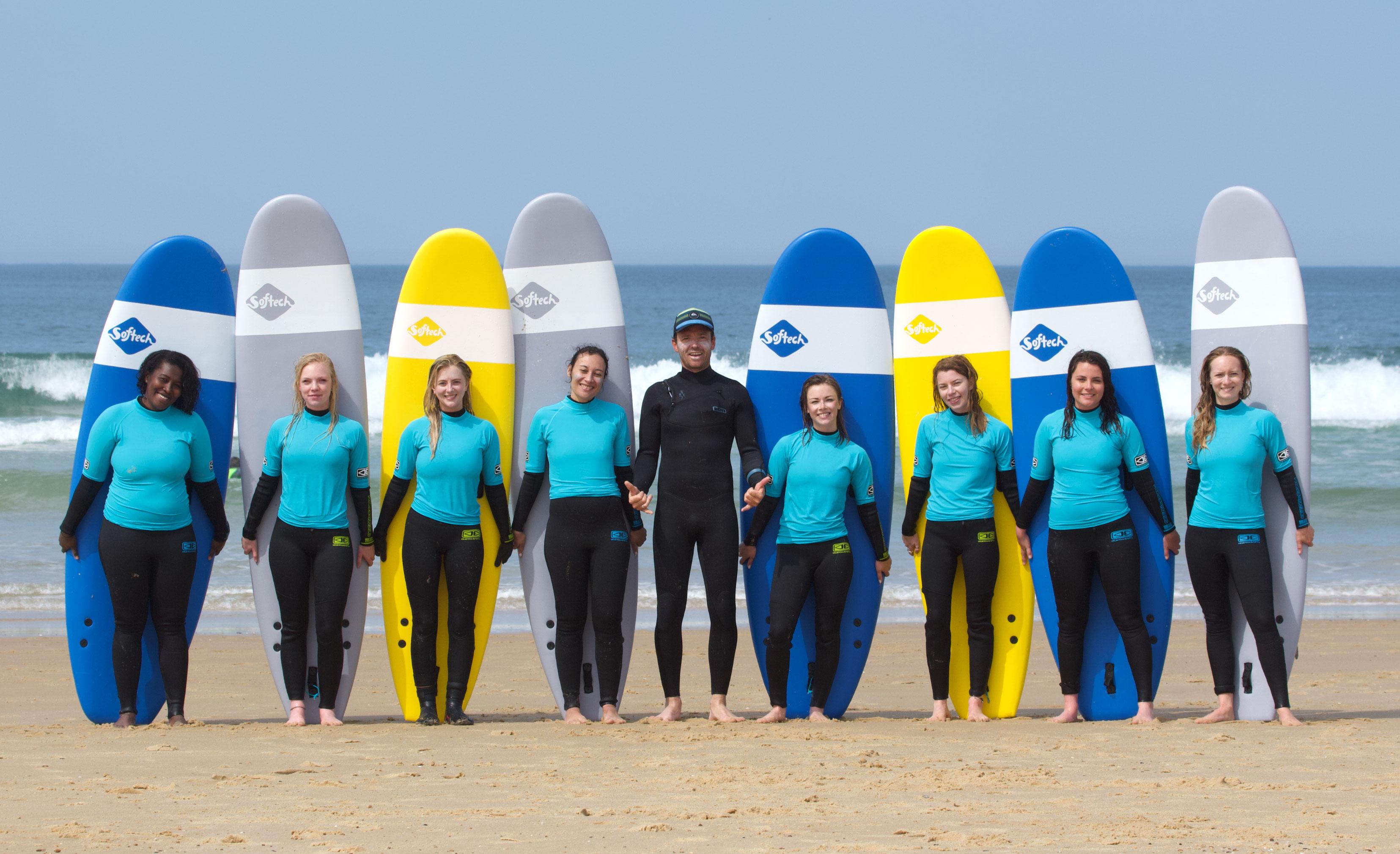 Initiation au surf à Lacanau