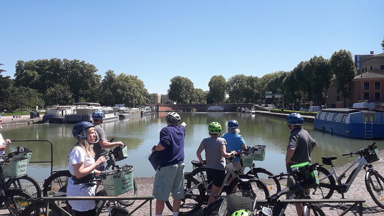 Découverte de Toulouse à Vélo Électrique