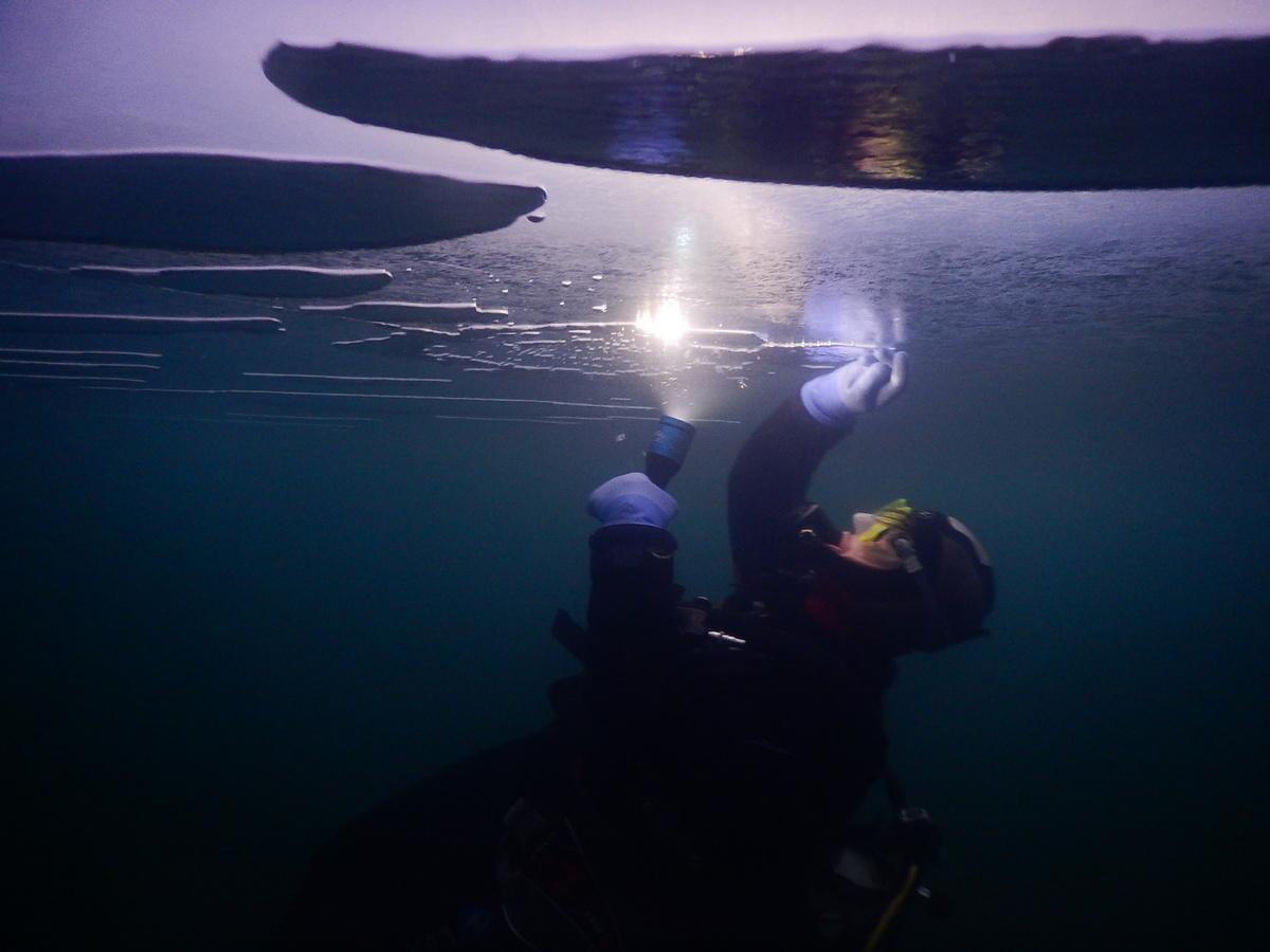 Plongée sous Glace en Savoie