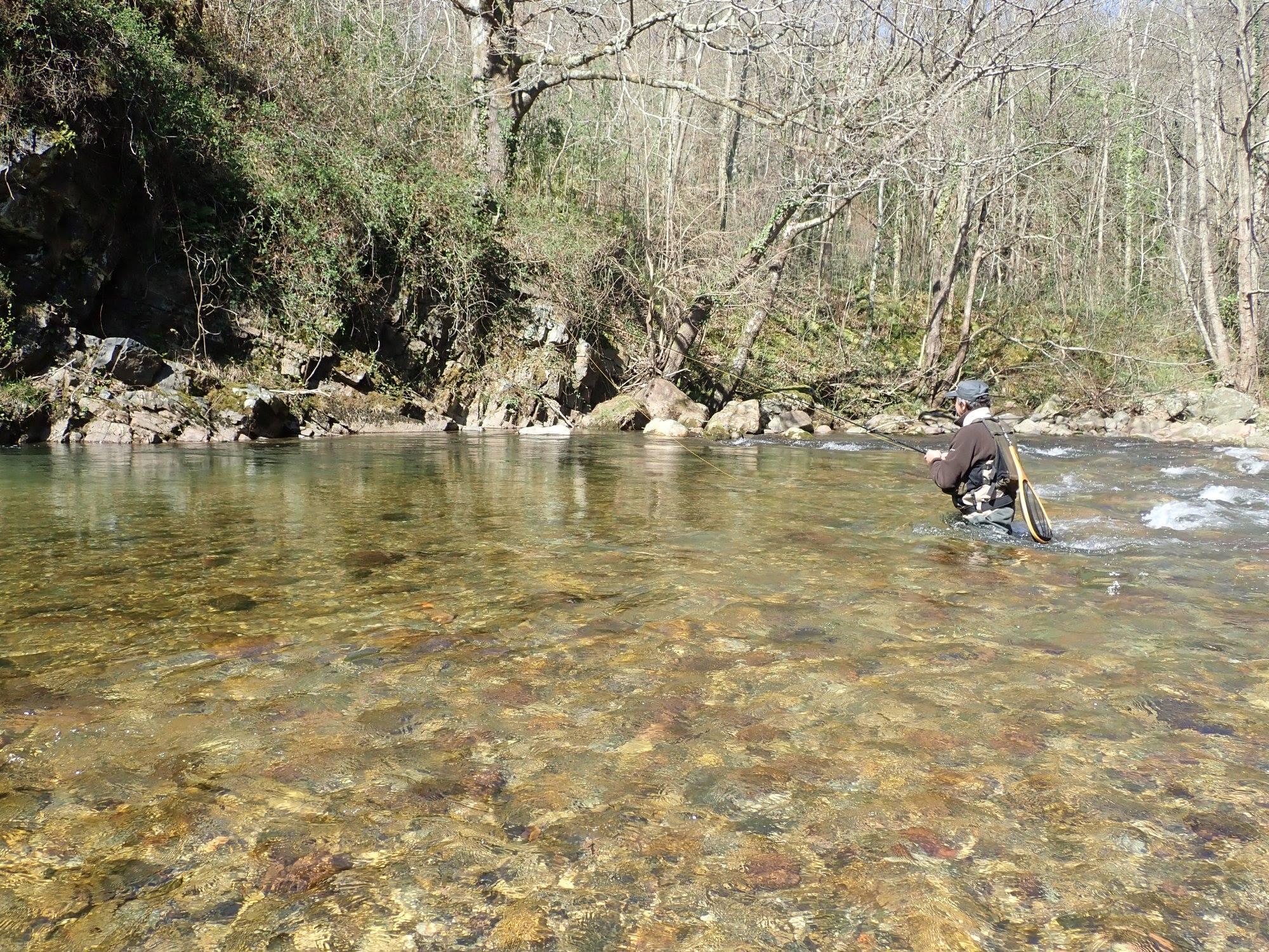 Initiation et perfectionnement de guidage pêche