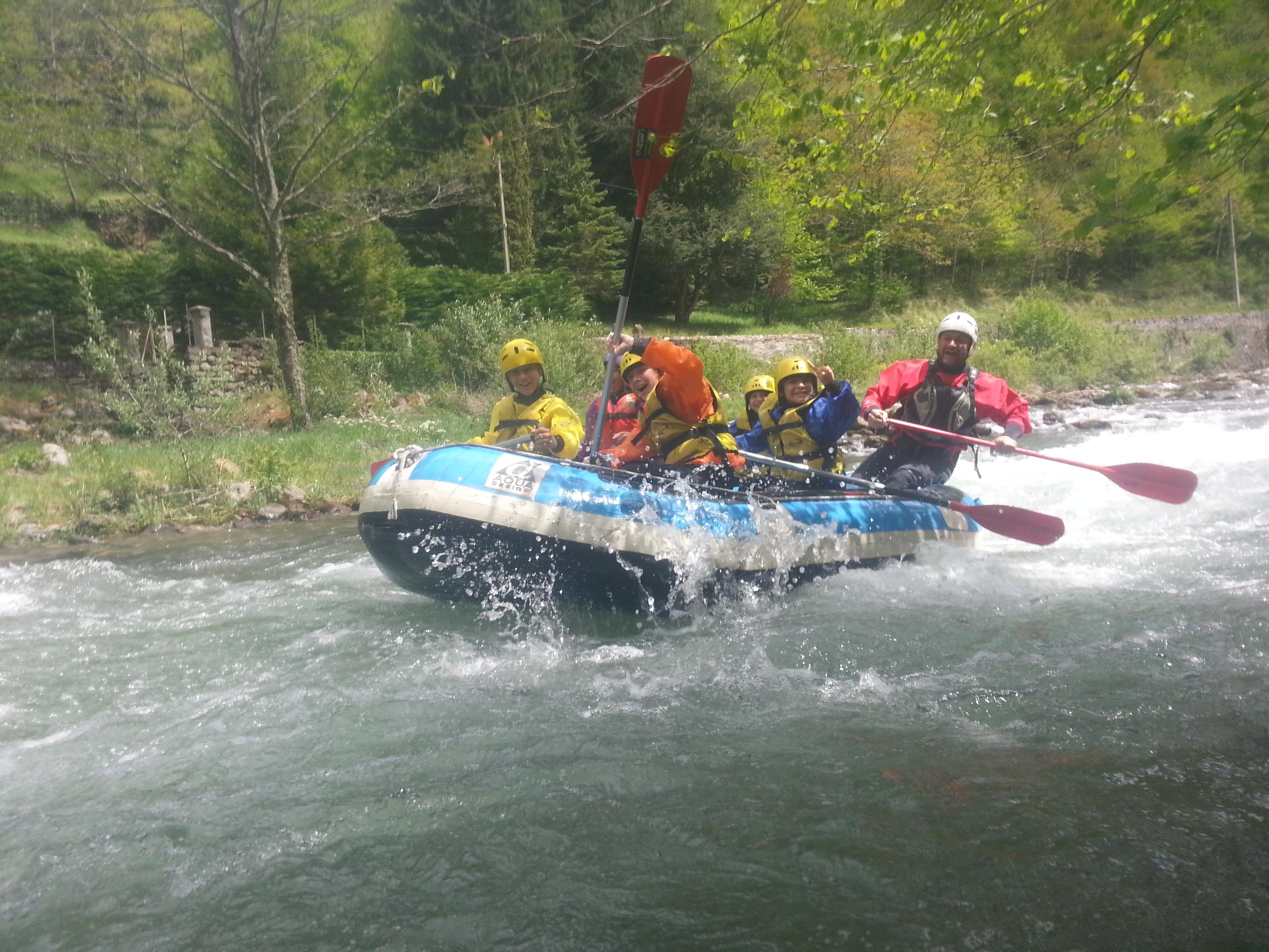 Rafting et cano-raft en Ariège