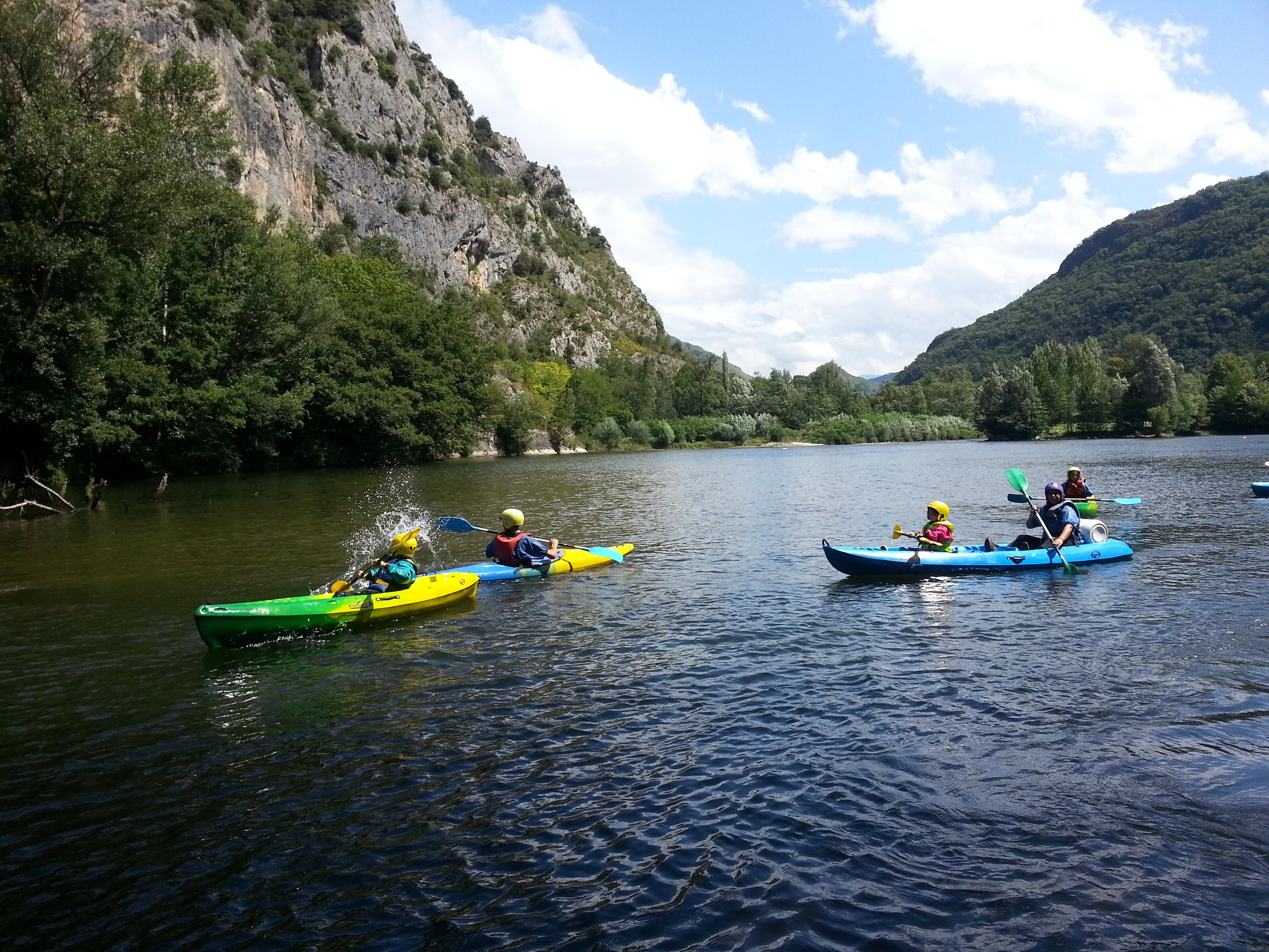 Canoë-kayak en Ariège